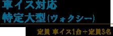 竹富島のタクシー特定大型車イス対応ボクシー
