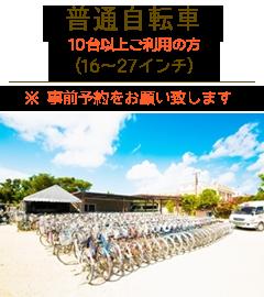 竹富島レンタサイクル普通自転車団体